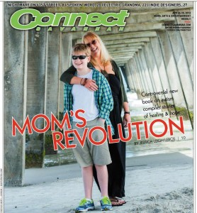 Blaze on Cover of Connect Magazine