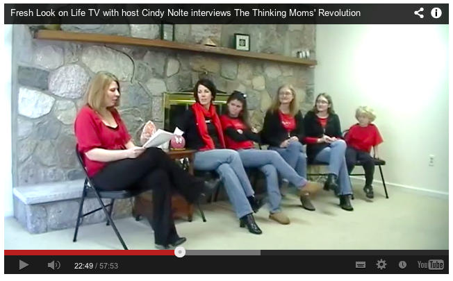 Thinking Moms interviewed by Cindy Nolte