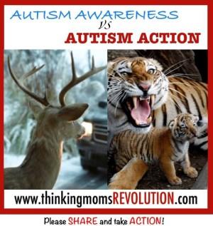 TMR Meme Autism awareness vs action