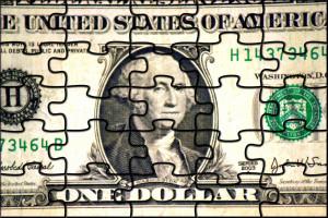 puzzled dollar