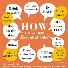 How to use essential oils courtesy of caigconsulting.com