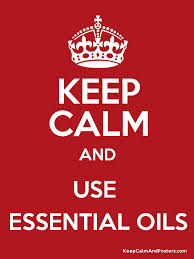 keep calm essential oils