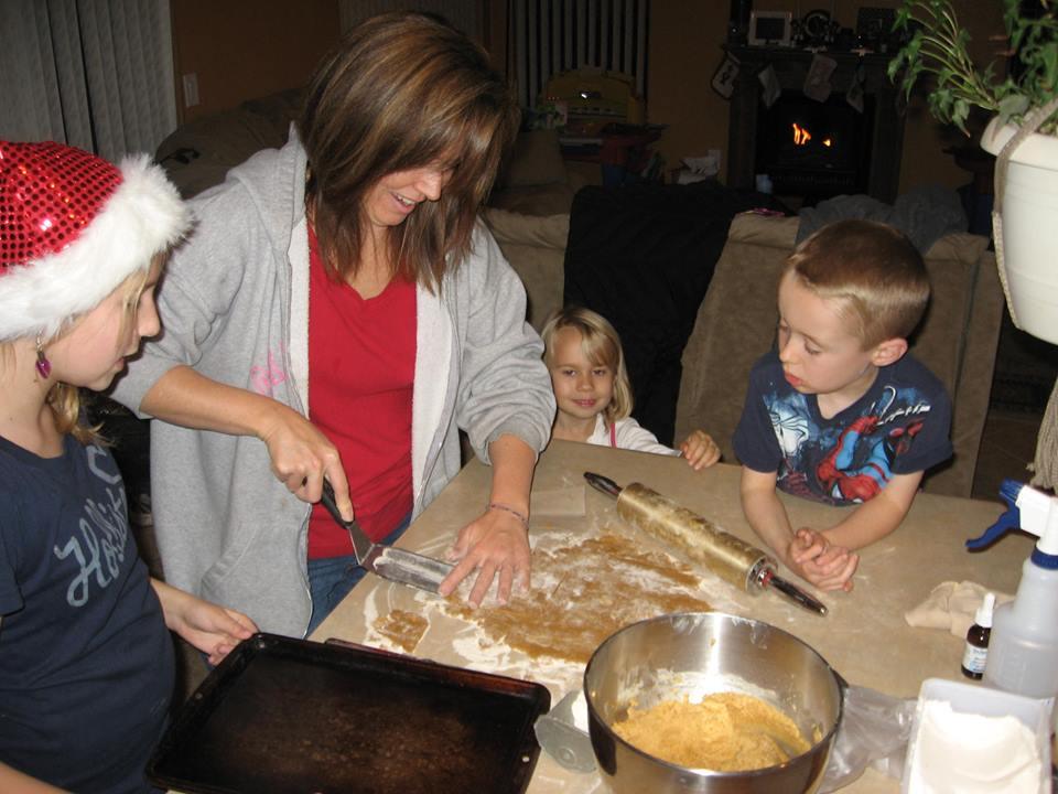 Terri cooking