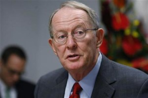 Senator Lamar Alexander speaks at the Reuters Washington Summit