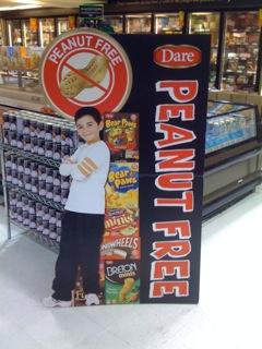 DarePfree sign