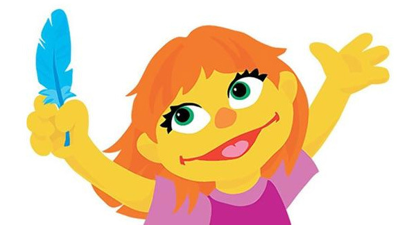 Julia the Autistic Muppet