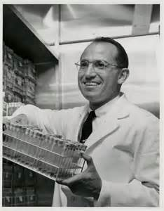 Jonas Salk, inventor of the first inactivated polio vaccine