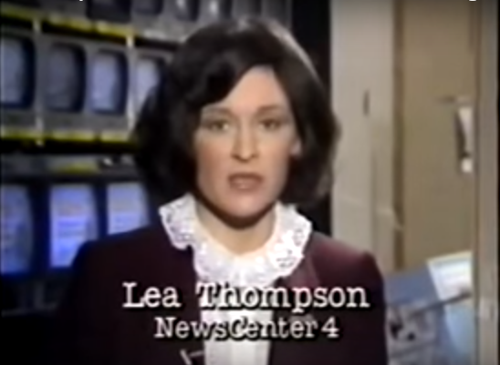 Lea Thompson reporting on the hazards of DPT vaccines