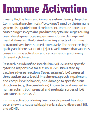 immune activation
